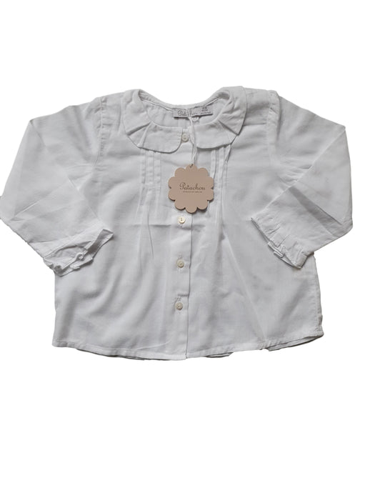 PATACHOU new girl blouse 12 m and 18m