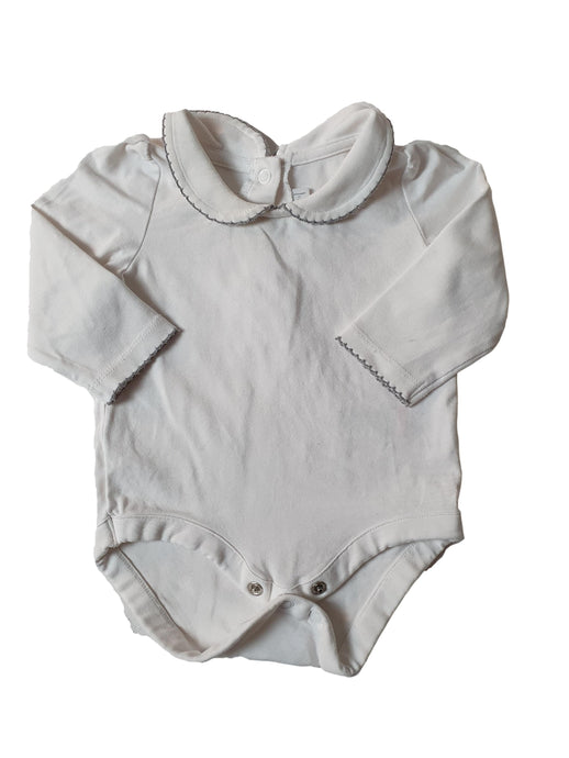 THE LITTLE WHITE COMPANY girl or boy bodysuit 0-3m