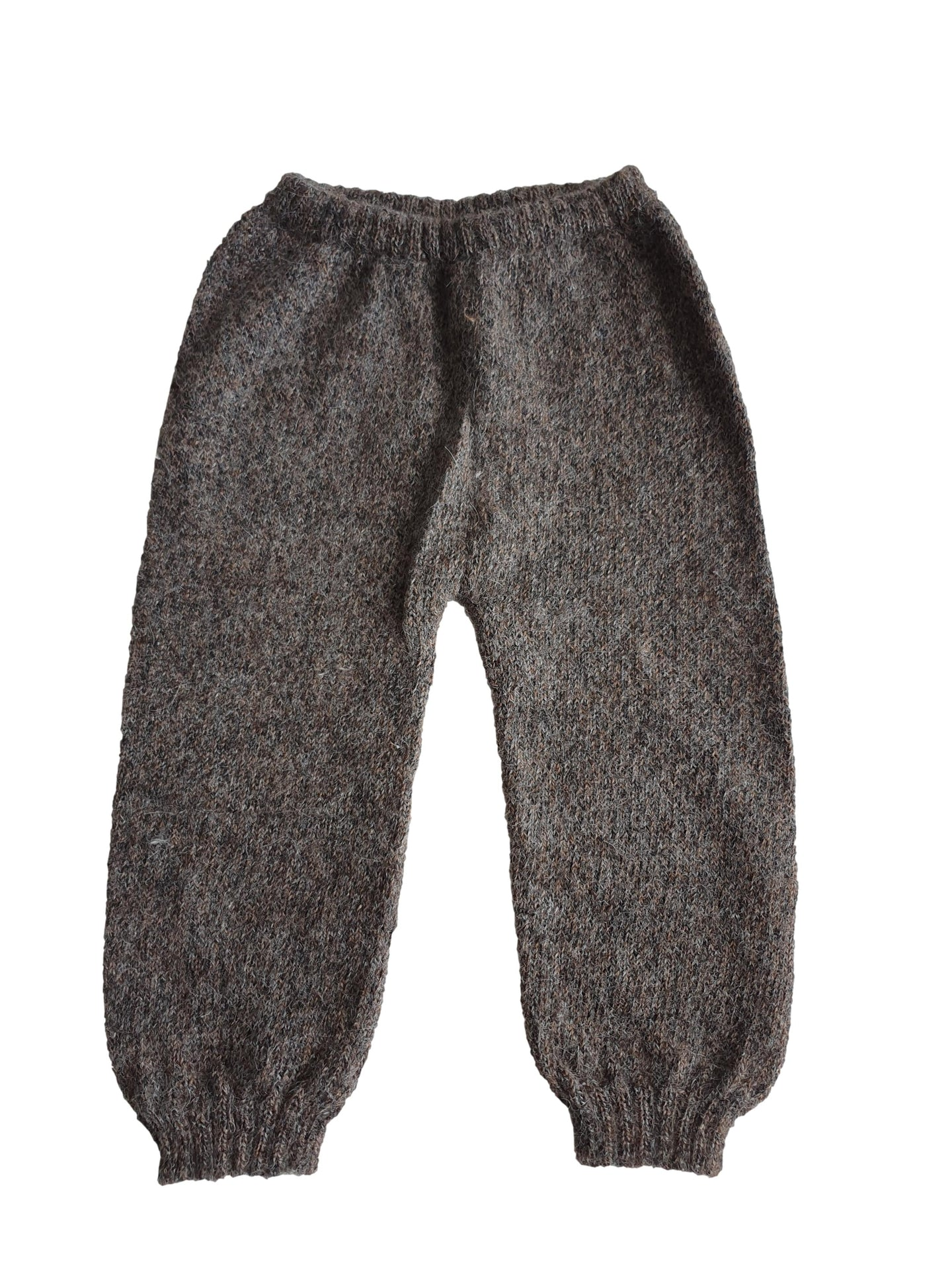 OEUF boy or girl knitted legging 6m