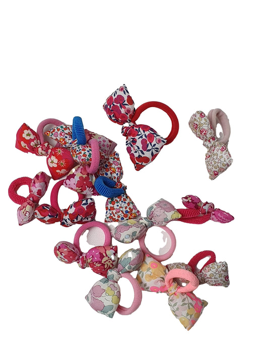 SAUTERELLE ROSE outlet girl hair bow (small sizes)