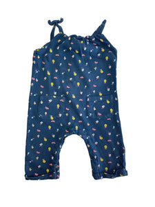VERTBAUDET girl dungaree 9m
