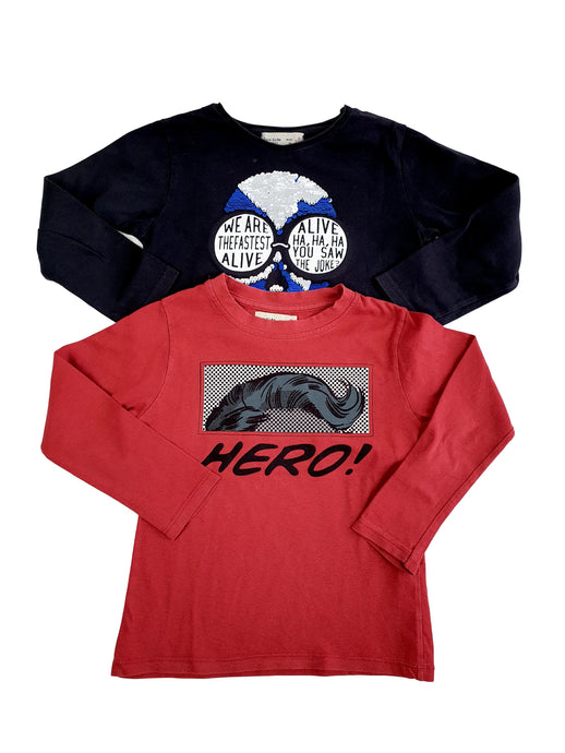 ZARA boy set of 2 tee shirts 5yo