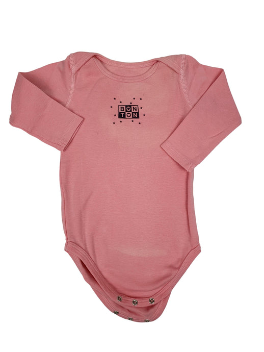 BONTON girl bodysuit 12m defect
