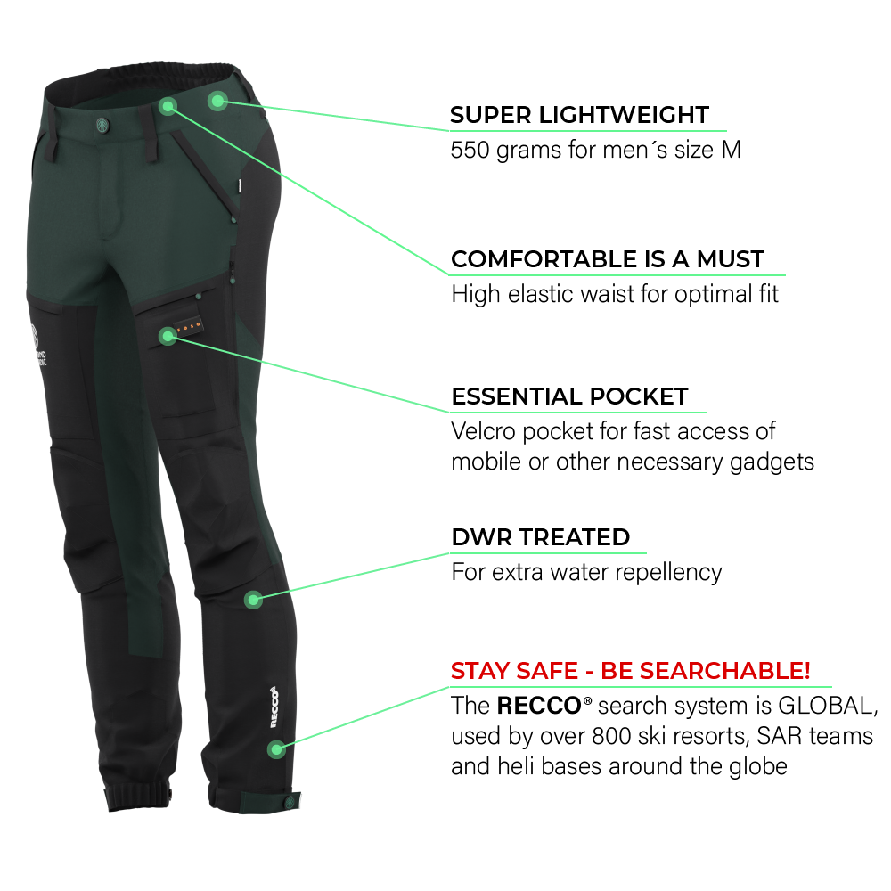 BN001 Women's Hiking Pants Pine Grove