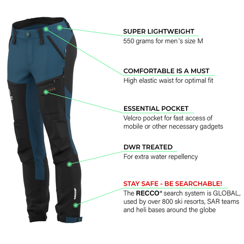 Load image into Gallery viewer, BN001 Women's Hiking Pants Legion Blue