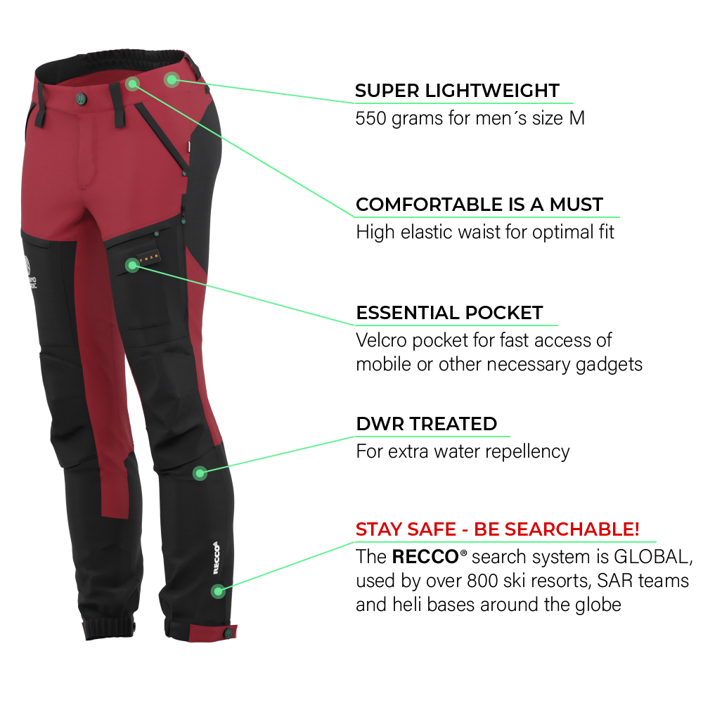 BN001 Women's Hiking Pants Rio Red