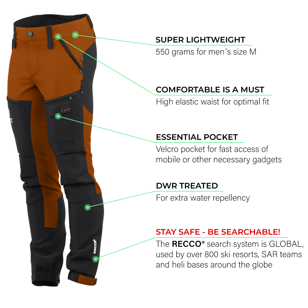 Load image into Gallery viewer, BN001 Men's Hiking Pants Burnt Orange