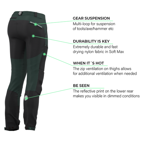 Load image into Gallery viewer, BN001 Women's Hiking Pants Pine Grove
