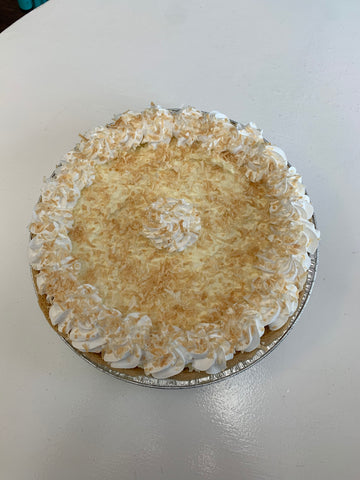 Coconut Cream Pie 9 inch