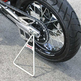 "DF-D36-39-021 - Super Motard type (with 17"" wheels) triangle stand in gunmetal grey"