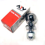 "120.0050 Tow Ball 50mm x 3/4"" CHROME"