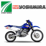 Yoshimura RS-2 Slip On for 1996-2017 Suzuki DR650 - stainless/aluminium - includes a removable USFS approved Spark Arrested insert