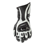 RST R-18 LEATHER GLOVE [WHITE]