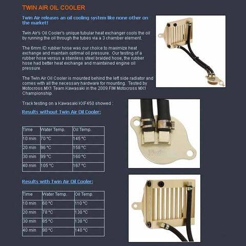 Twin Air Oil Cooler page
