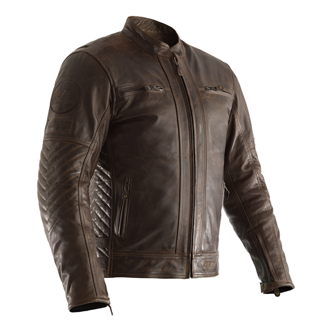 RST CLASSIC TT RETRO 2 LEATHER JACKET [BROWN]