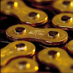 Renthal R1 MX Works Chain have a special finish - the gold side plates have a corrosion resistant plating that provides it with an attractive colour to match all motorcycles.