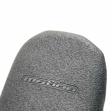 Both the universal DRC Motion seat covers (for MX or trail bikes) have a non-slip, 100% gripper material. Their unique shape and superior sewing makes installation easy
