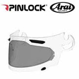 AH-PL000043 - SAMPLE PICTURE - Arai DKS054 Standard Insert (in dark tint for intense sunshine) offers normal field-of-view coverage for all Arai SAI faceshields: Corsair-V, RX-Q, Defiant and Vector 2