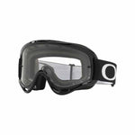 OA-OO7029-53 - Oakley O Frame MX goggles in jet black frame with clear lens