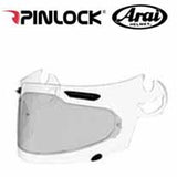 AH-PL000045 - SAMPLE PICTURE - Arai DKS054 Standard Insert (in light tint for sunny weather) offers normal field-of-view coverage for all Arai SAI faceshields: Corsair-V, RX-Q, Defiant and Vector 2