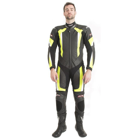 RST 1067 R-16 Leather Suit Flo Yellow