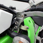 DF-ZE71-1821 Zeta Handguard Front Type Mount can be used on motorcycles on which the top clamp fork bolts are fitted from the front