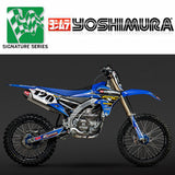 YM-234810D321 - Yoshimura Signature Series RS-4 full system (stainless/aluminium/carbon fibre) for 2014-2017 Yamaha YZ450F