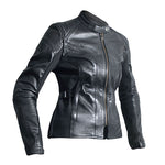 KATE LADIES LEATHER JACKET [BLACK]
