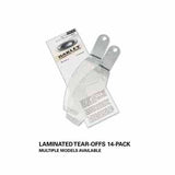 SAMPLE PICTURE - Oakley MX goggles Laminated Tear Offs (14 pack)