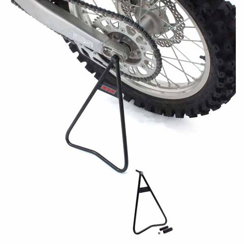 DF-D013-1101 DRC A3110 MX Side Stand - hooks into the rear axle and made of durable steel