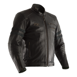 RST IOM TT HILLBERRY LEATHER JACKET [BLACK]