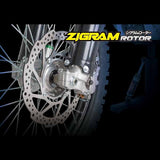 SAMPLE PICTURE - Zigram ZWheel Rotors are available for front and rear (rear available in standard or mud types)