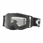 OA-OO7087-01 - Oakley Front Line MX adult goggles in Matte Black Speed frame with Clear lens