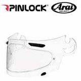 "AH-1132 and AH-PL000355 - SAMPLE PICTURE - Arai DKS095  Max Vision Insert with Brow Vent (in clear/normal) offers complete field-of-view coverage for Arai SAI ""Extreme Peripheral View"" faceshields: Corsair-V, RX-Q, Signet-Q and Vector-2 models"