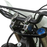 "DF-ZE53-0526 - Zeta Bar Rise Kit Offset 7/8"" - handlebar rise and offset kit - provides 26mm higher, 20mm back and forth positions from stock handlebar position"