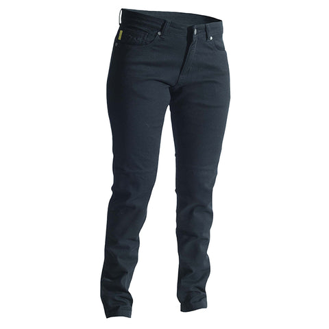 RST SKINNY FIT LADIES ARAMID JEAN [BLACK]