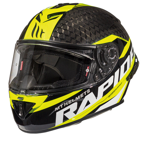 MT RAPIDE PRO CARBON [GLOSS FLURO YELLOW]