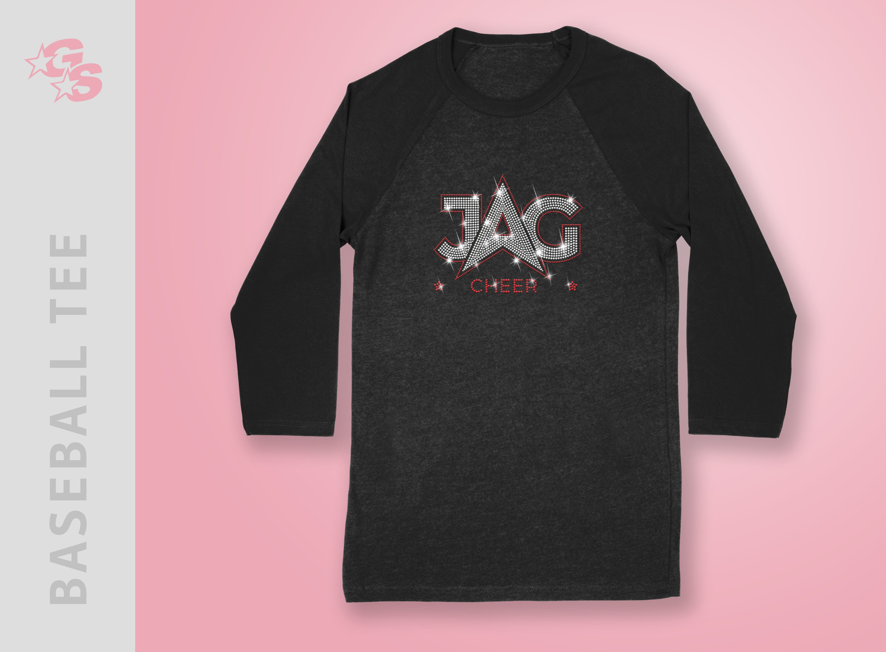 Jag Cheer Baseball Tee