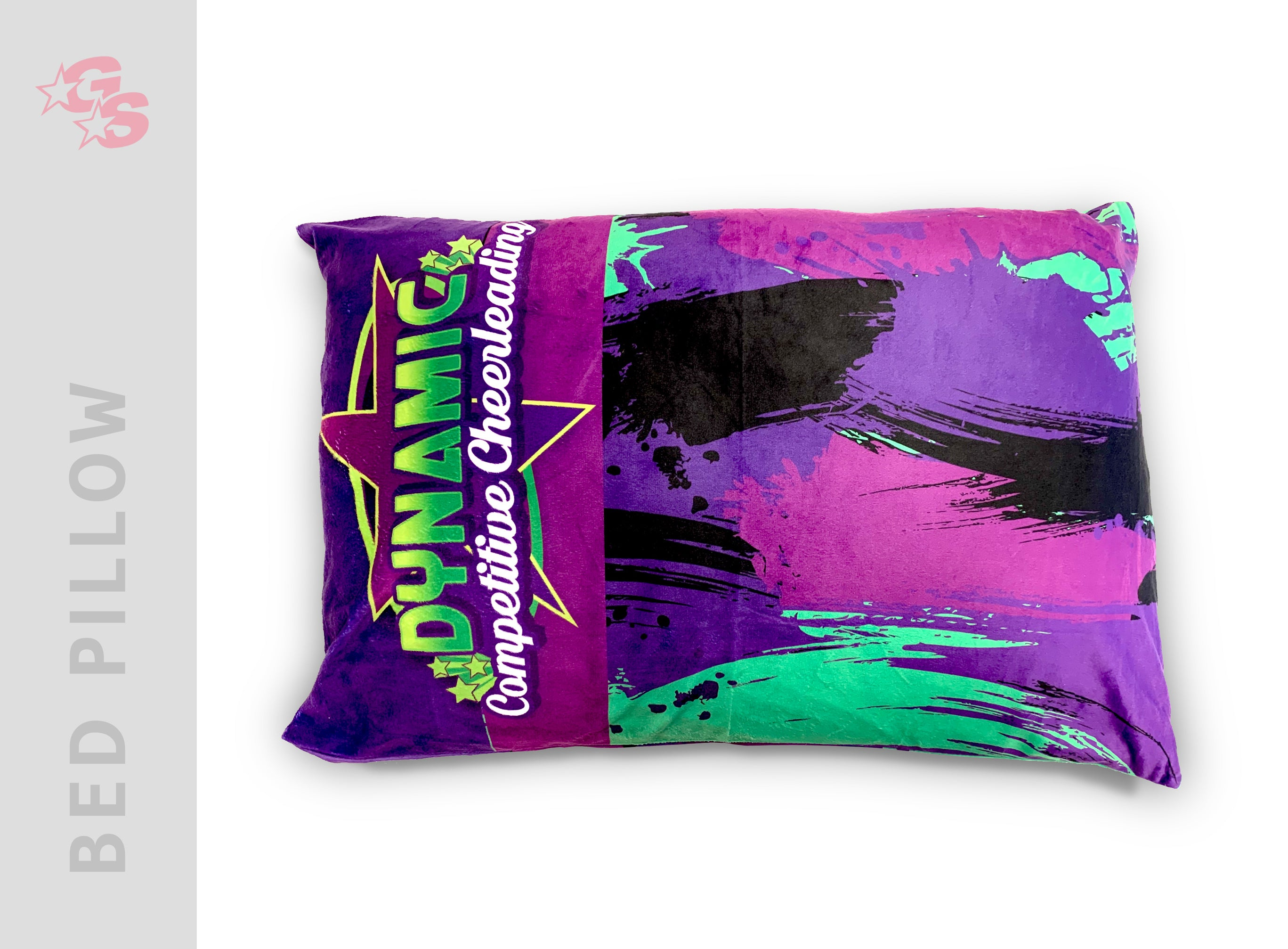 Dynamic Competitive Cheer Bed Pillowcase