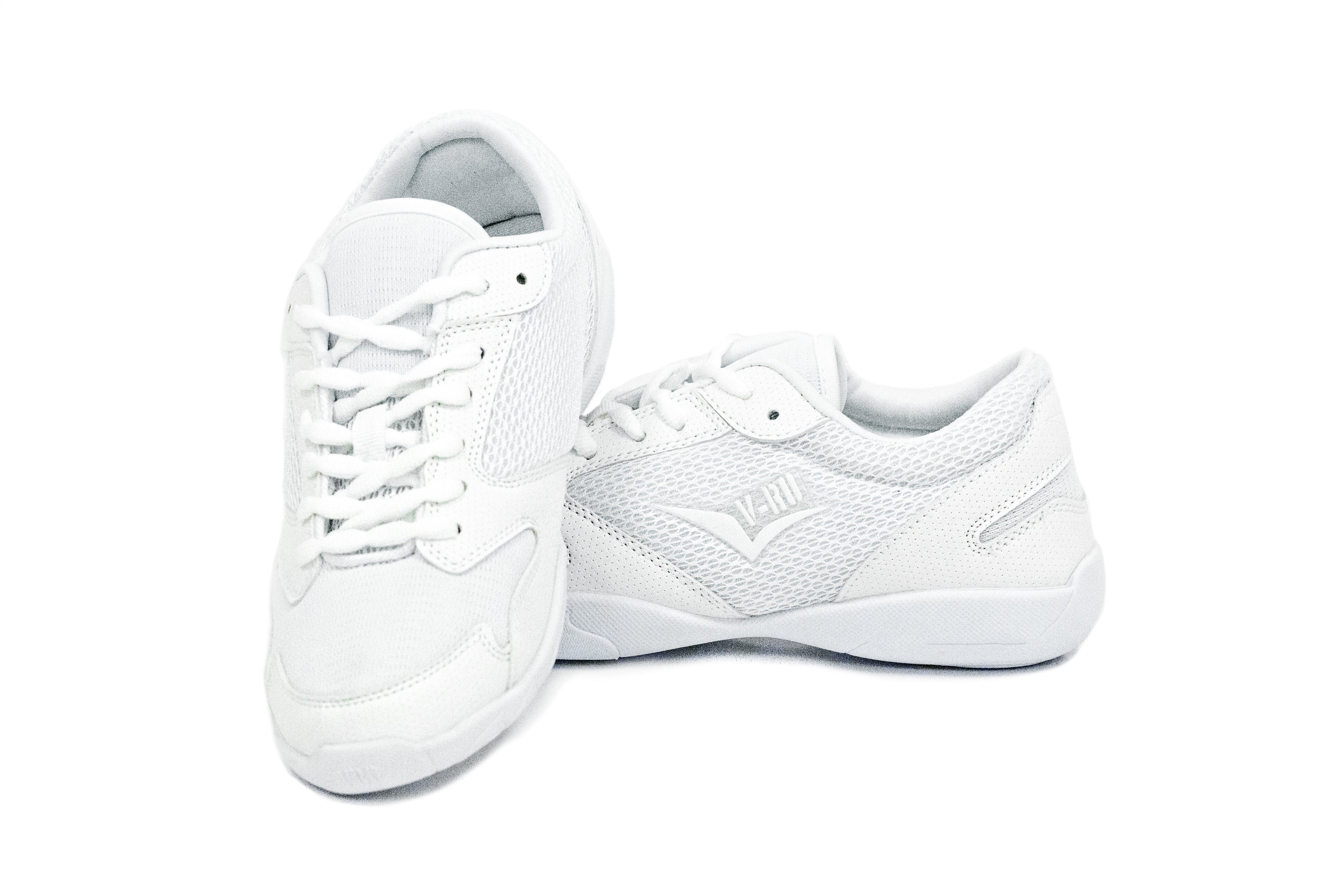 White Low Top V-Ro Shoes