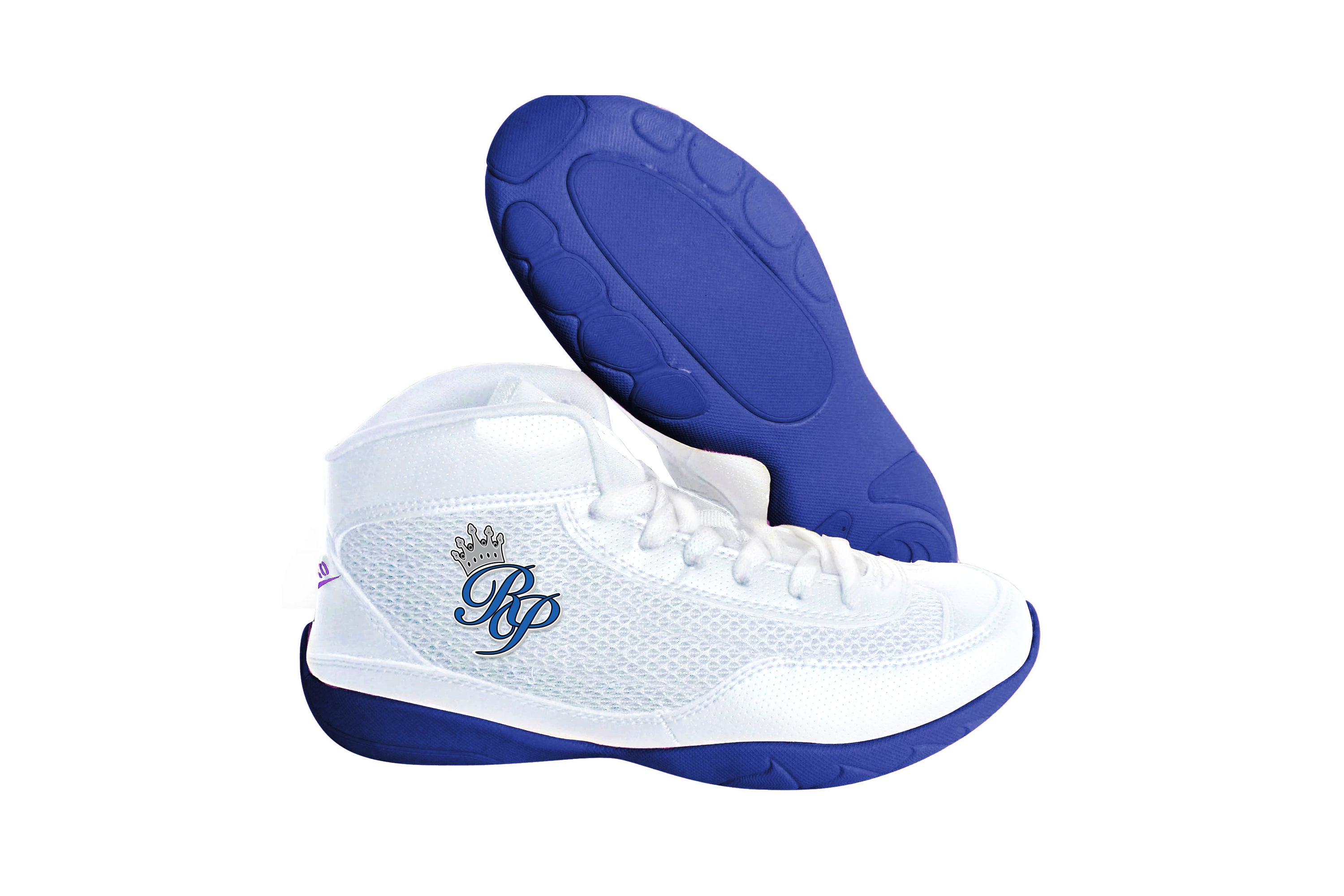 High Top V-Ro Blue Shoes