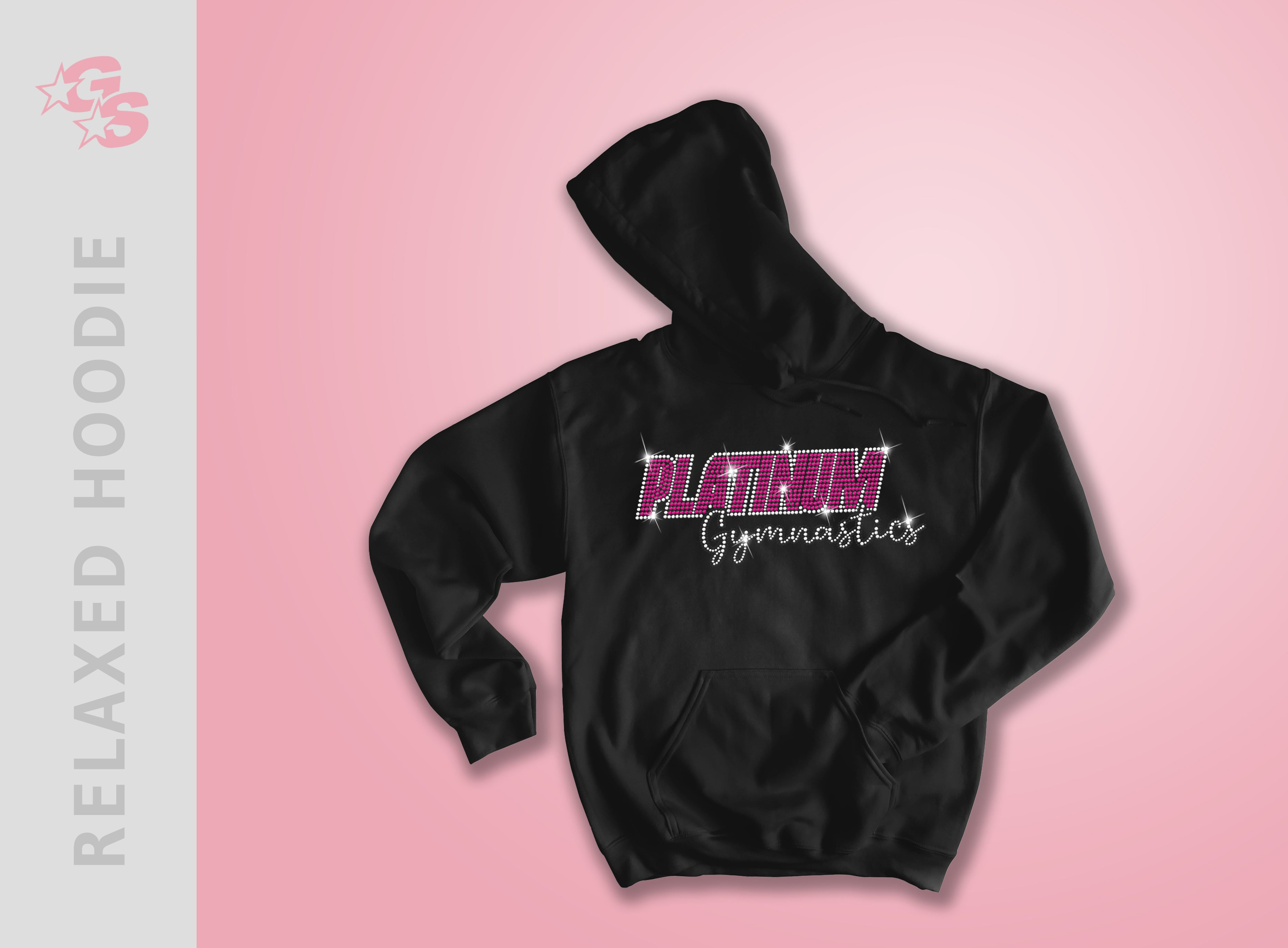 Platinum Gymnastics Relaxed Hoodie