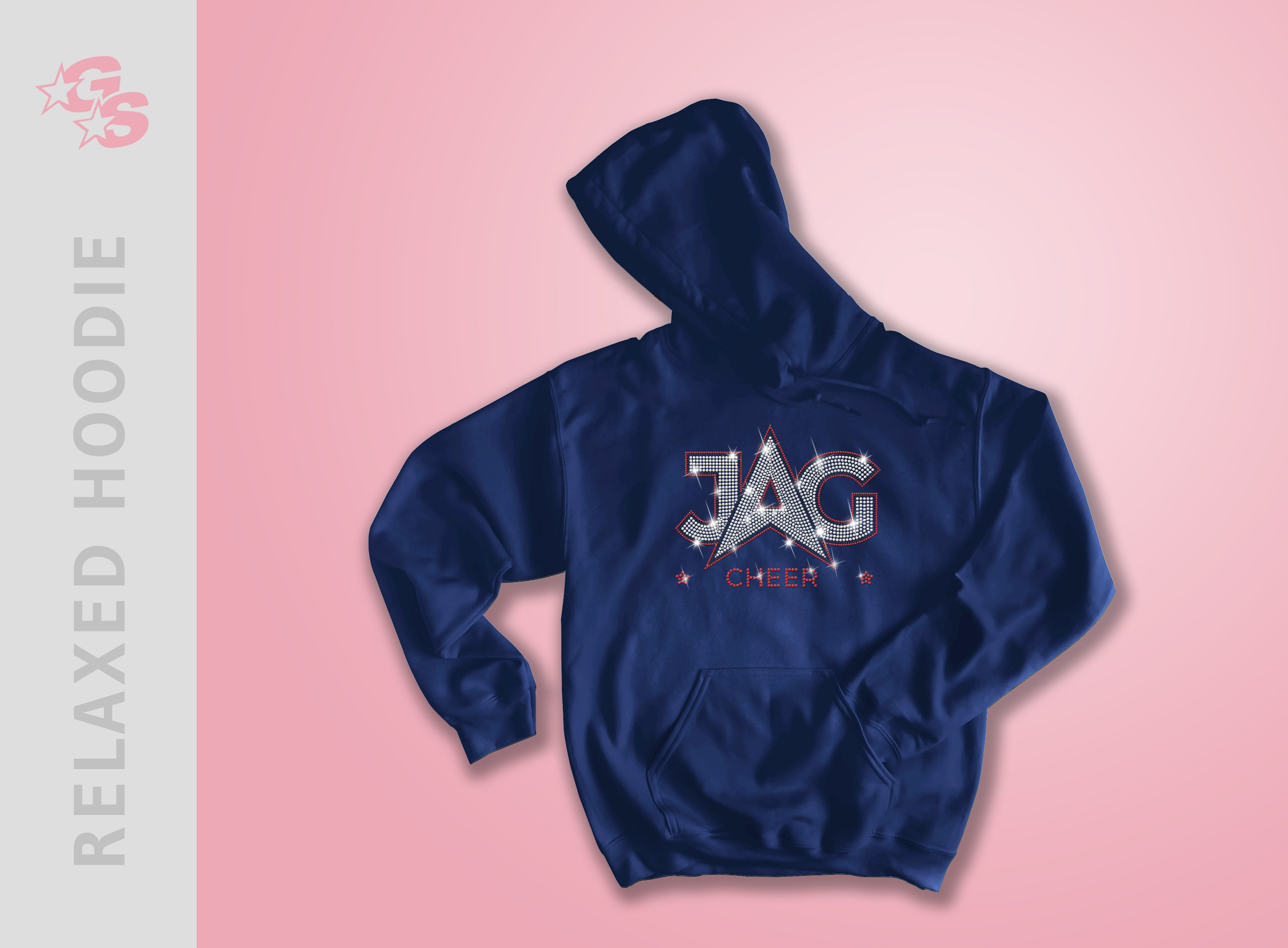 Jag Cheer Relaxed Hoodie