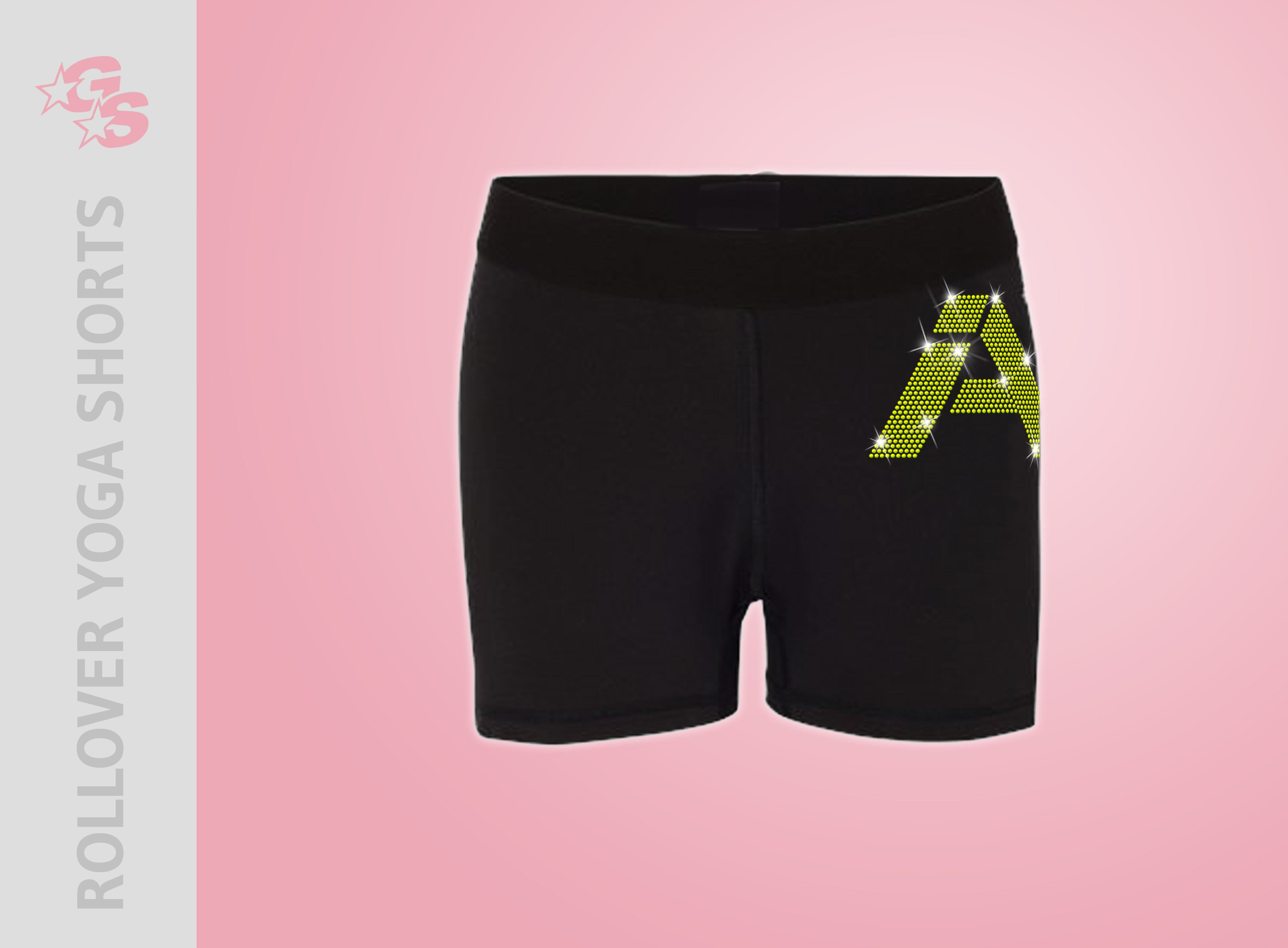 Inspire Athletics Rollover Yoga Shorts