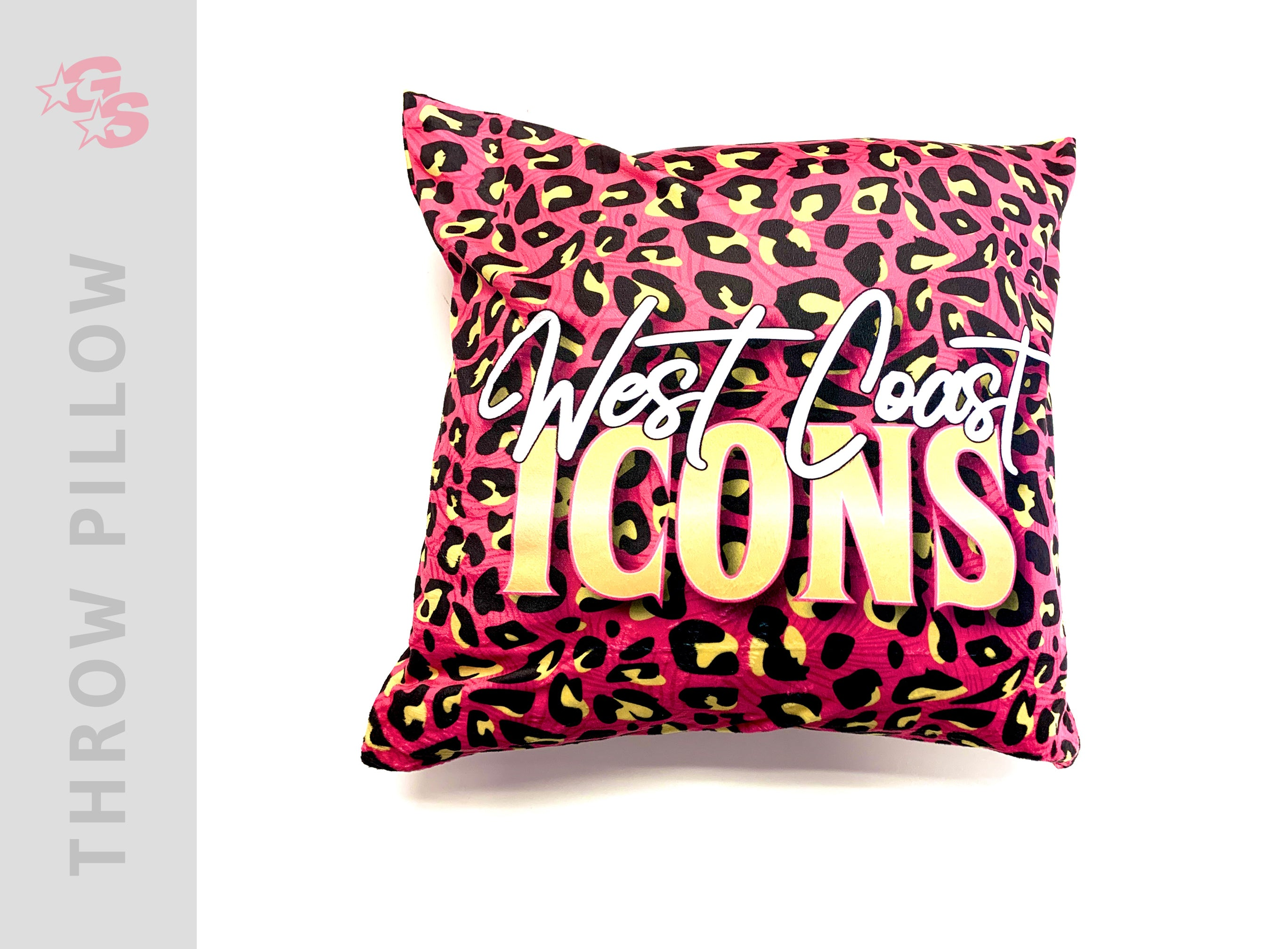 West Coast Icons Square Pillowcase