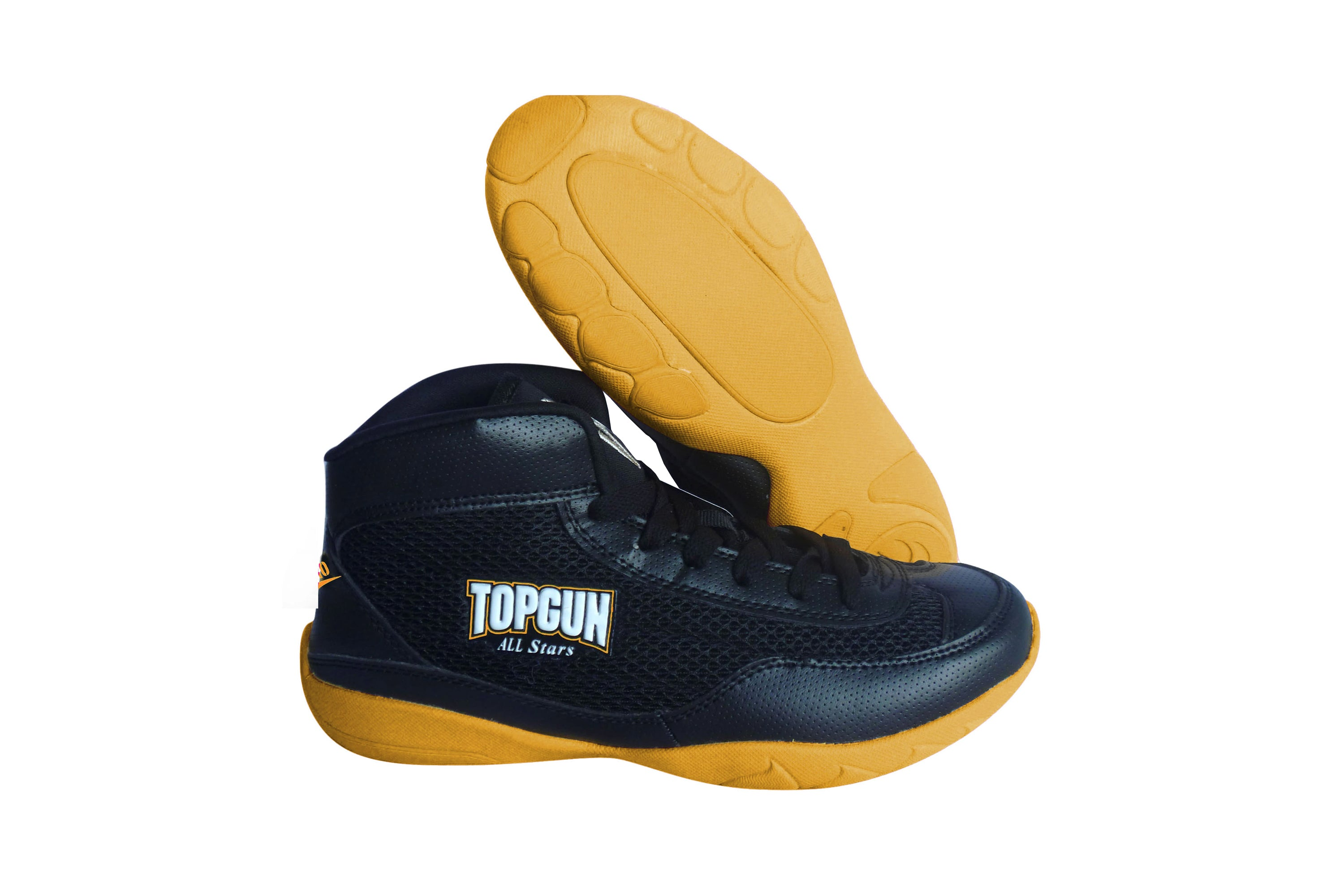 High Top V-Ro Yellow Shoes