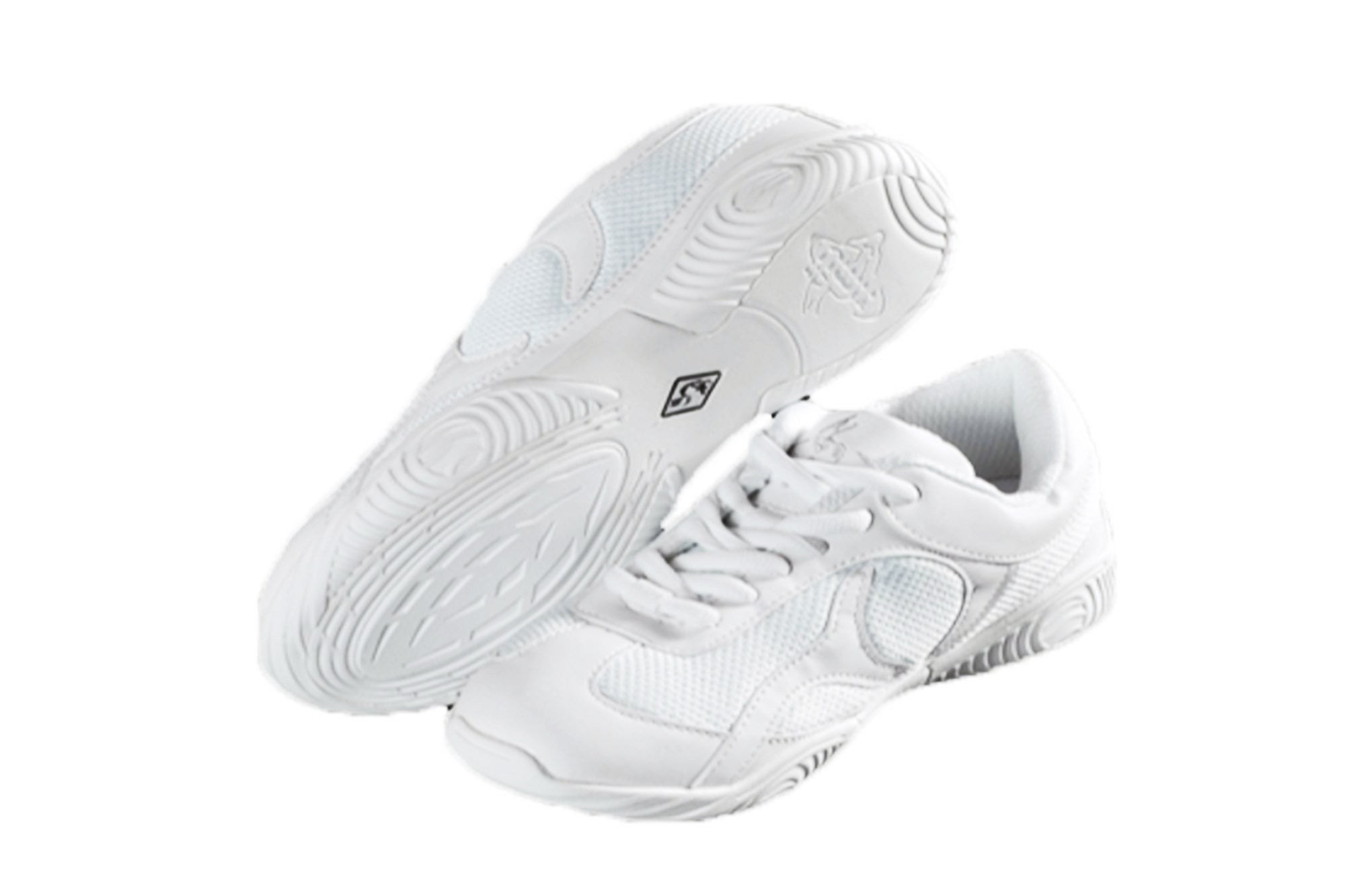Adrenaline 901 Mesh Cheer Shoes (White Low Top)