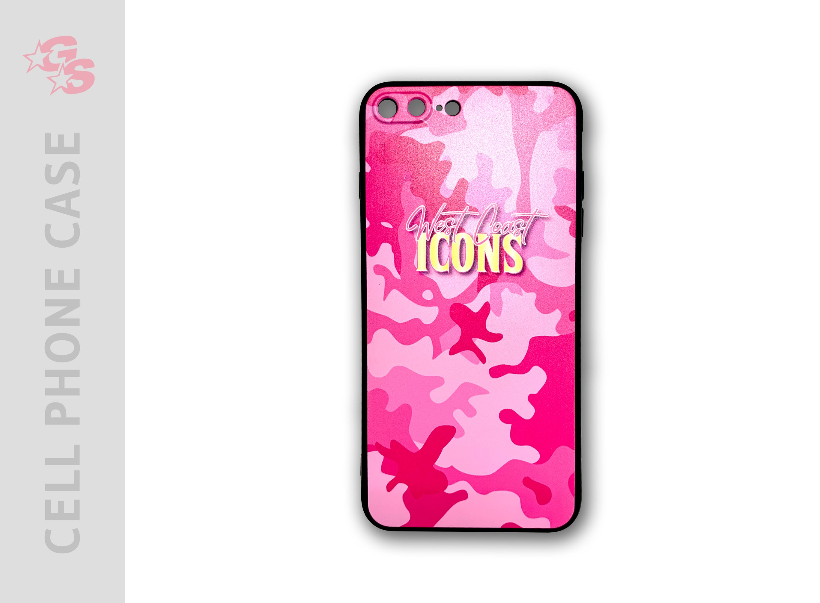 West Coast Icons Cell Phone Case