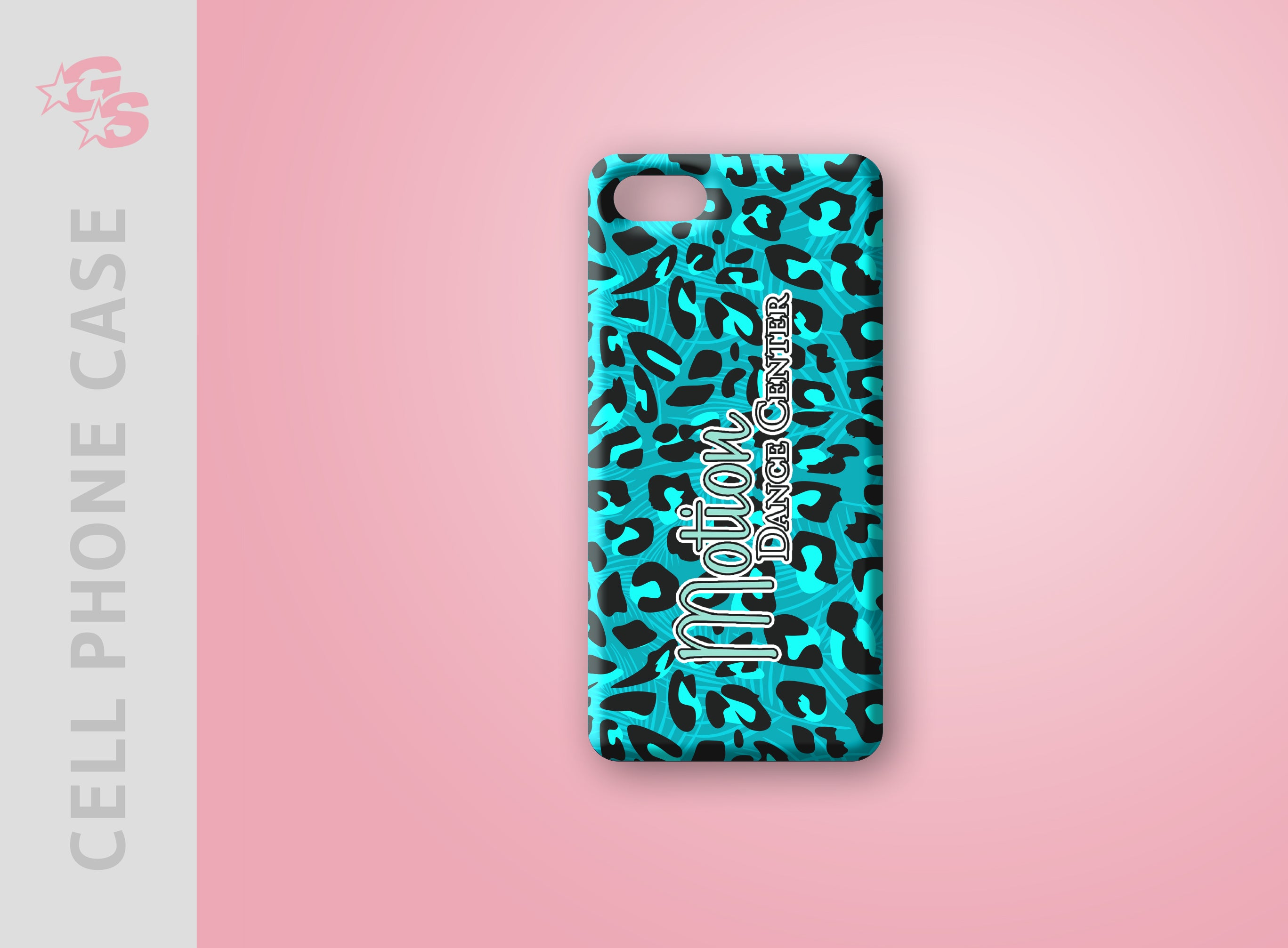 Motion Dance Center Cell Phone Case
