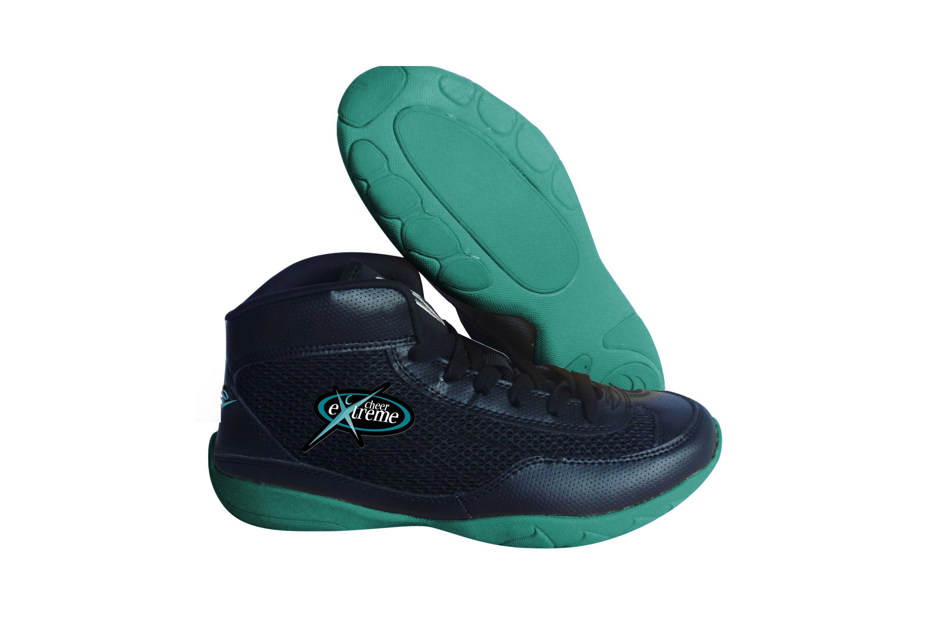 High Top V-Ro Teal Shoes